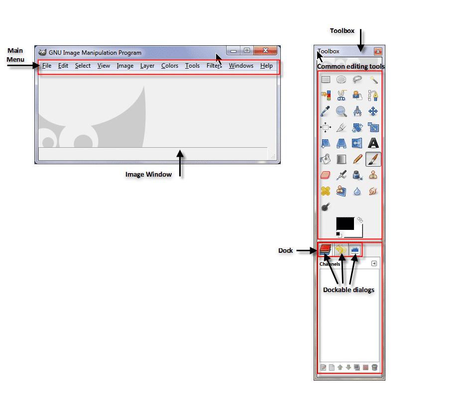 gimp-interface