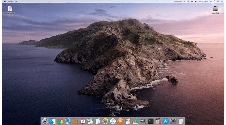 iRaspbian ana ekran görüntüsü