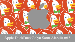 Apple ve DuckDuckGo Logosu