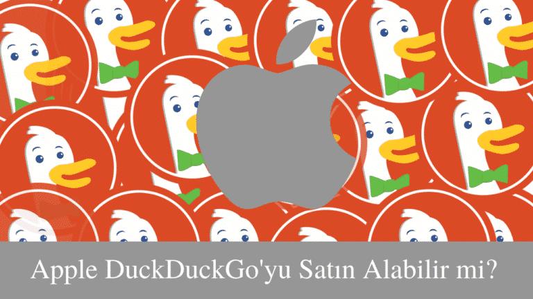 Apple ve DuckDuckGo Logosu