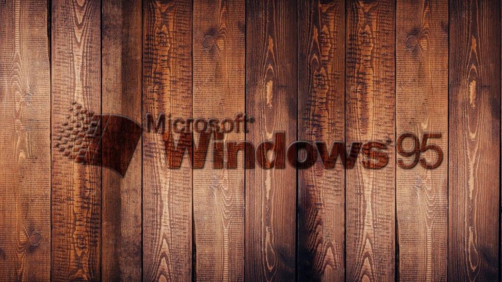 Microsoft 95 logo