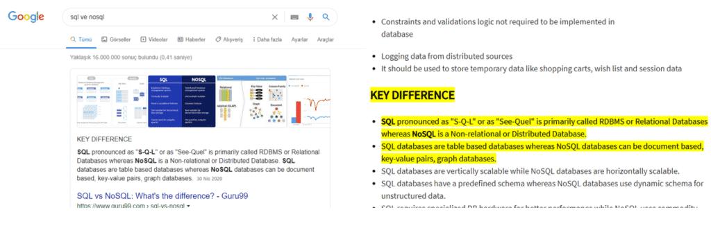 google highlight