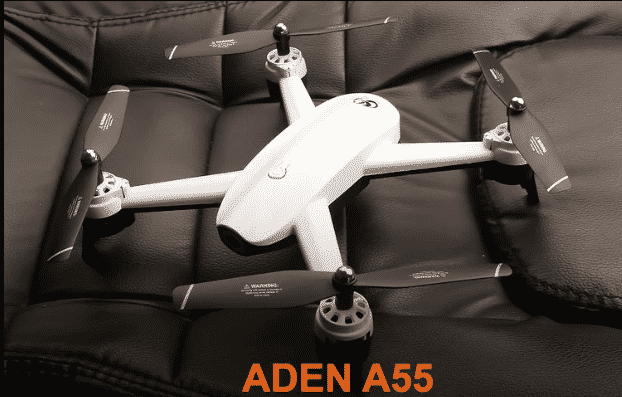 Aden A55 Fly More Combo Drone
