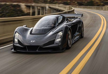 Czinger 3D ile basılan araba