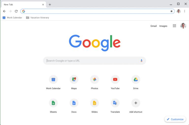 Google Chrome Tarayici