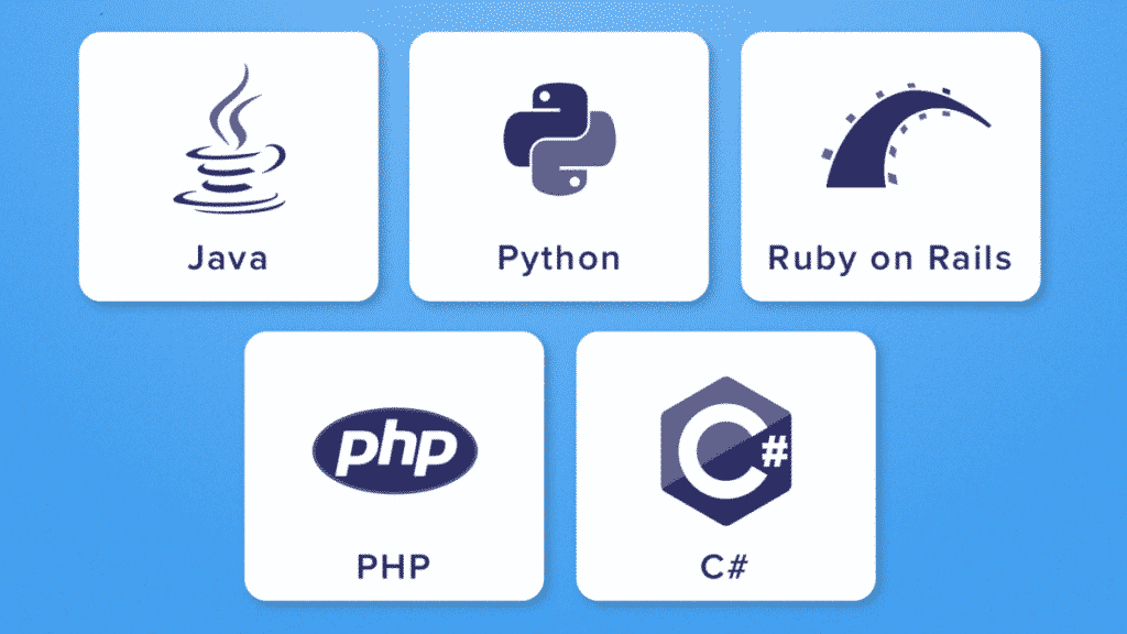 backend web developer language
