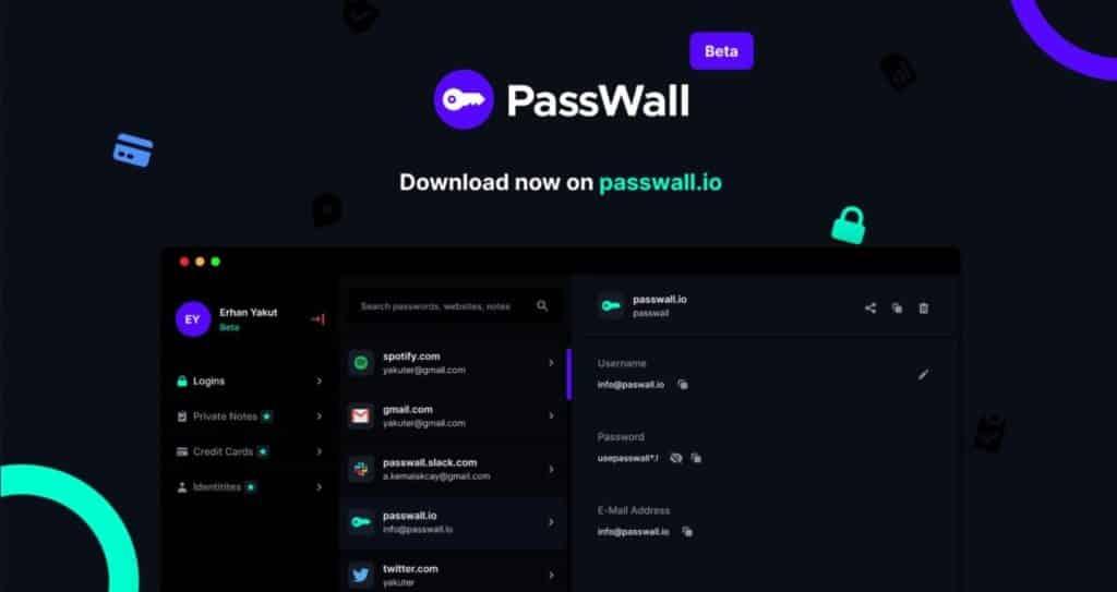 passwall giriş ekranı