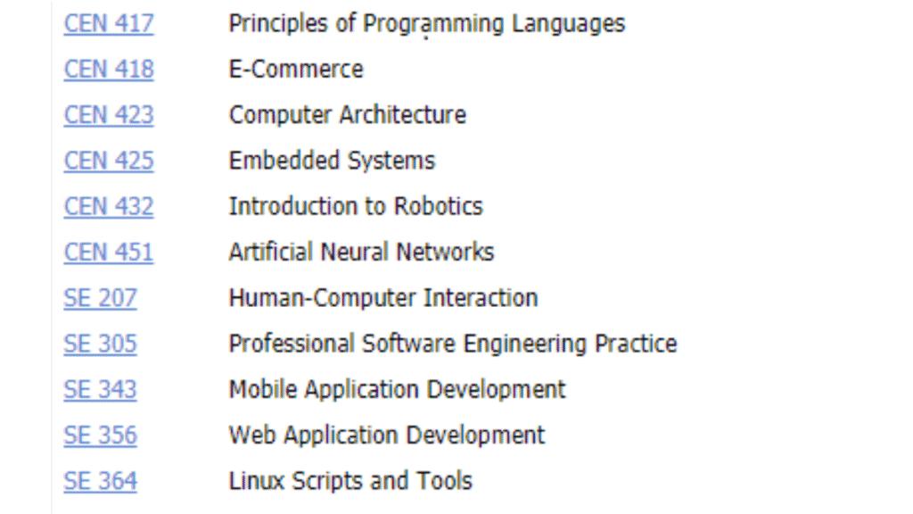 bilgisayar ve yazılım