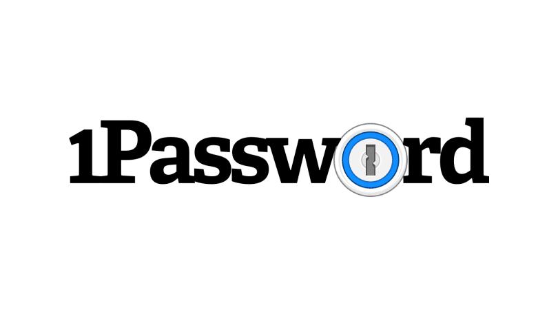 1password logosu