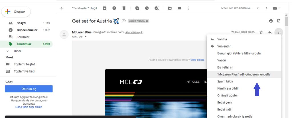 Reklam e-postalarının gelmesini nasıl engelleriz?