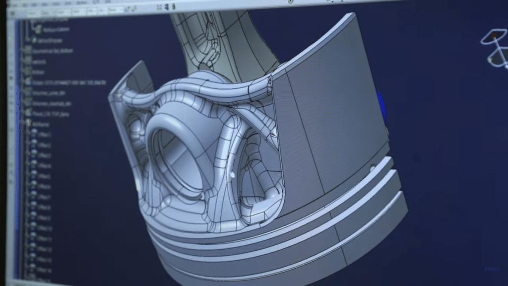 Porsche Mahle ile 3D yazıcı yardımıyla piston üretiyor