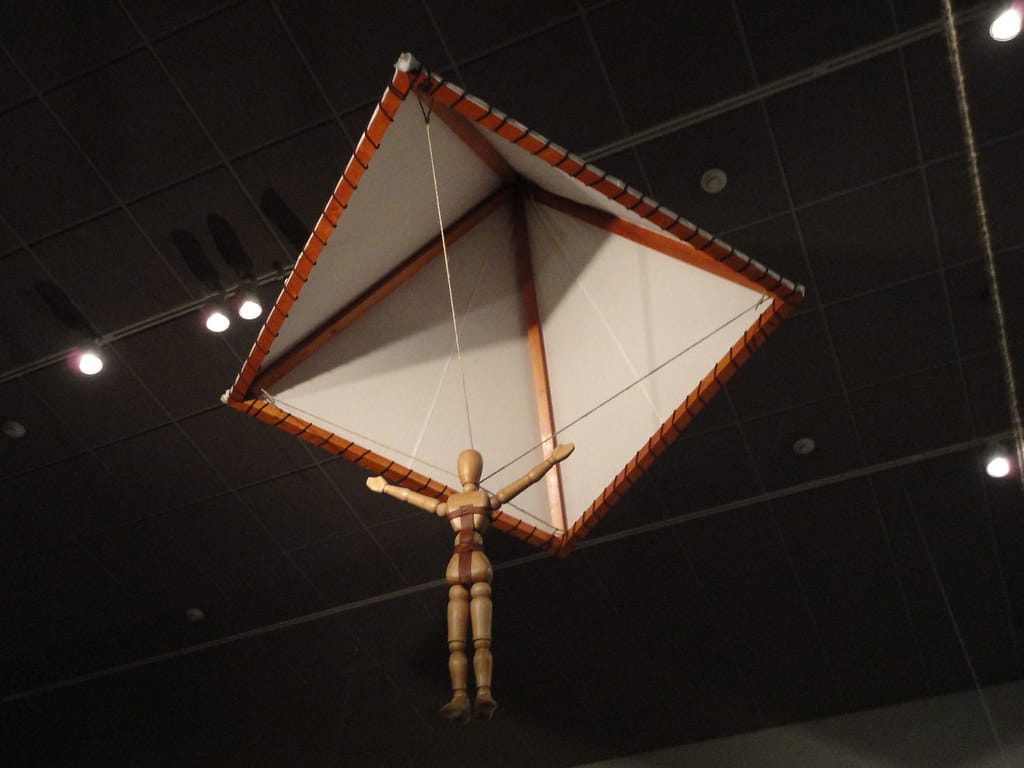 Leonardo da vinci paraşütü