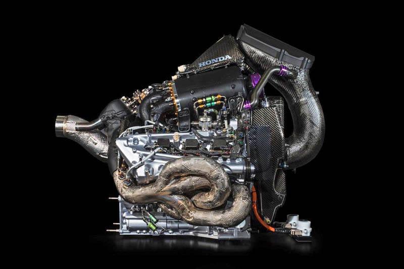 F1 motoru ve ers yapısı