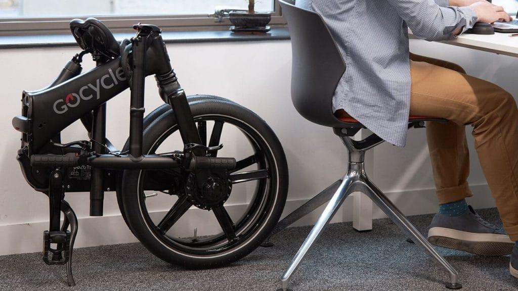 Gocycle GX katlanabilir elektrikli bisiklet