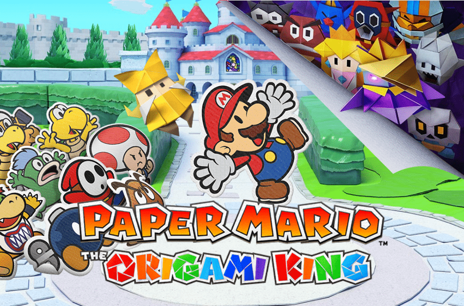 paper Mario the origami king oyun afişi