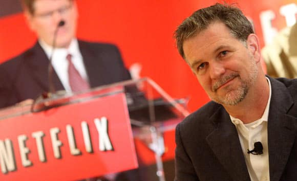 reed hastings ve netflix