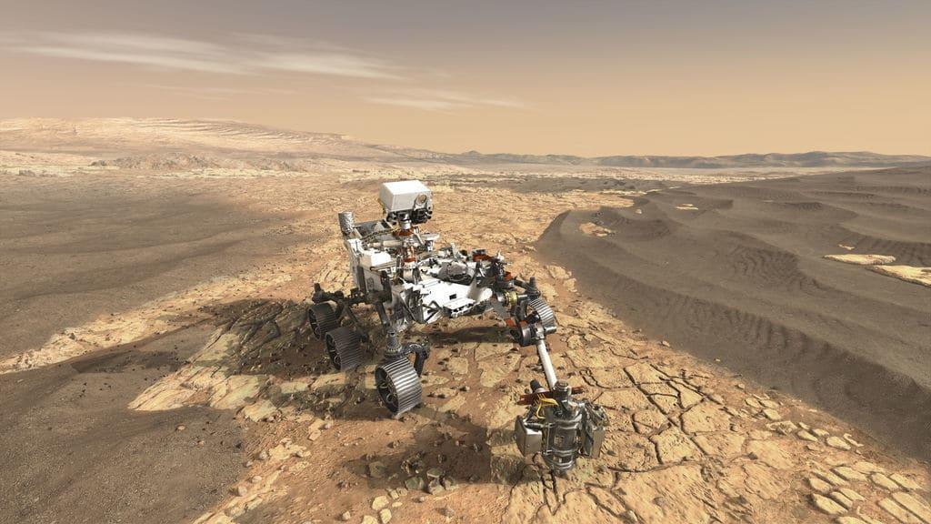 Perseverance dünya'dan Mars'a gidiyor.