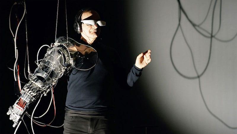 performans sanatları ve teknoloji için yapay kol