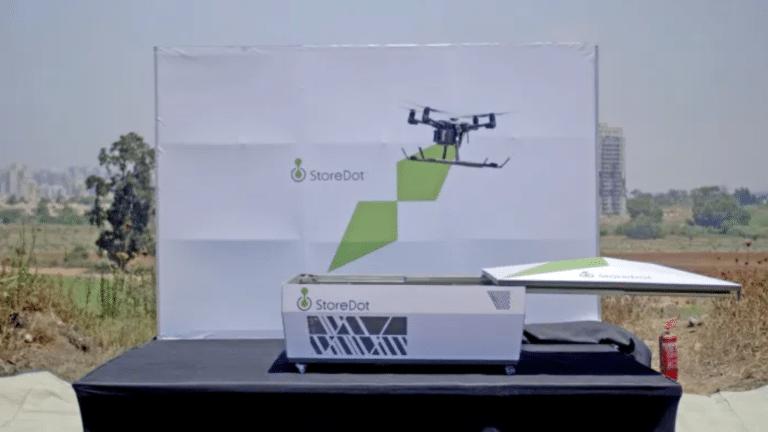 5 dakikada şarj olan drone