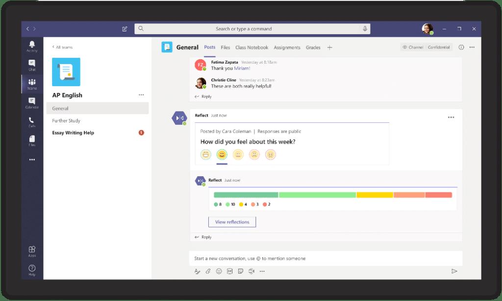 Microsoft Teams mesaj uzantısı