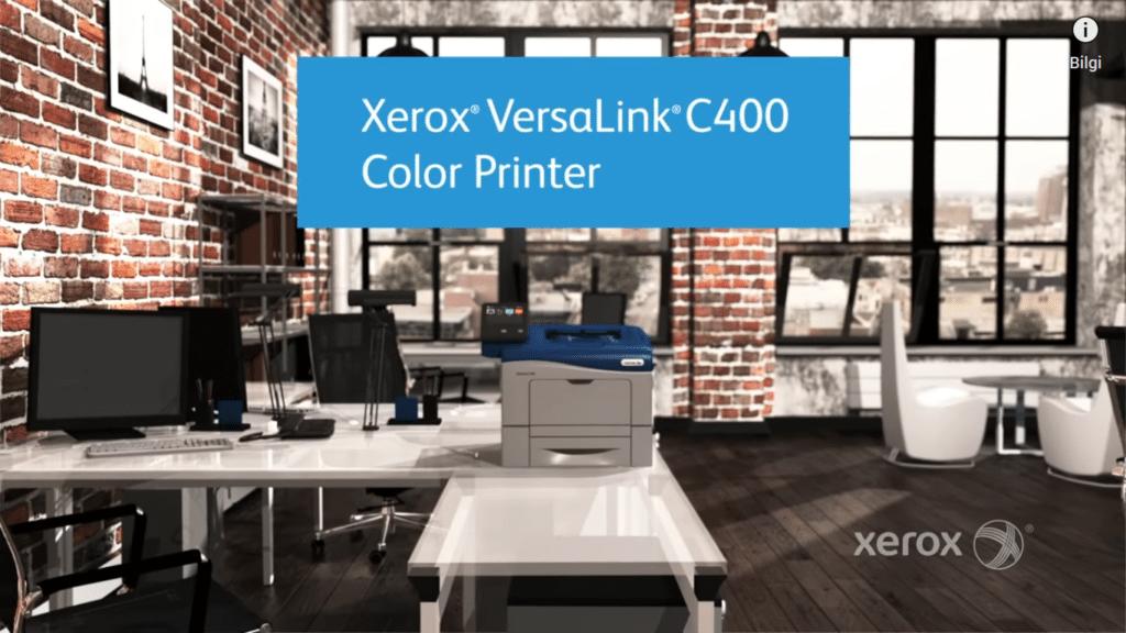 Ofisiniz İçin Tavsiye Edebileceğimiz Workgroup Yazıcılar Xerox Versalink C400_DN