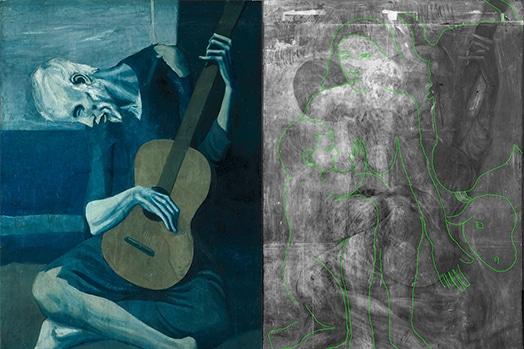 Sanat eserlerinde x ışınları