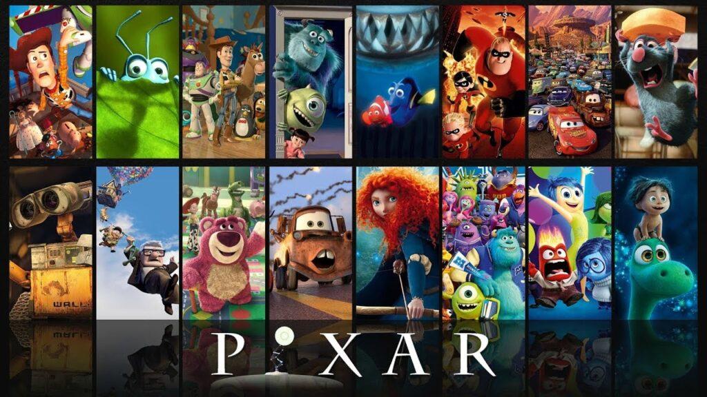 PİXAR animasyon stüdyoları filmleri