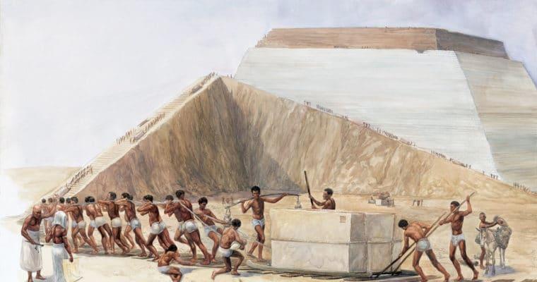 Eski Mısır'da mühendislik ve inşaat