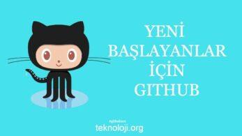 Github Nedir? Yeni Başlayanlar İçin GitHub