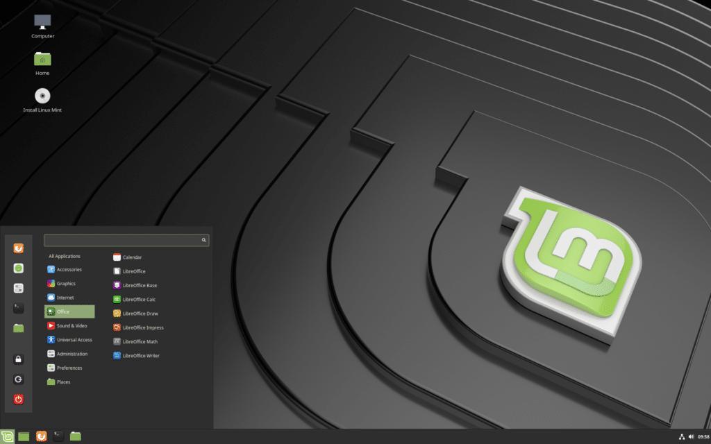 linux işletim sistemi arayüz