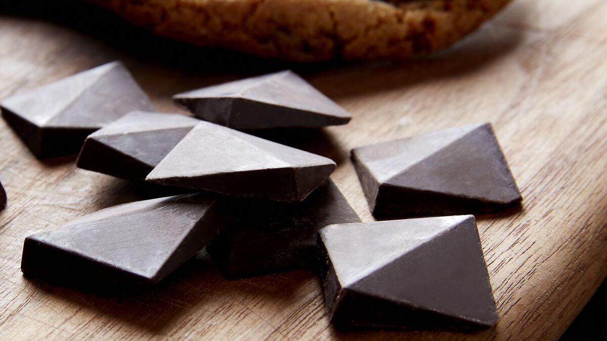 mükemmel çikolata parçası