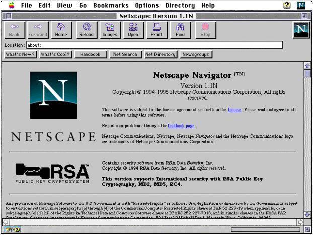netscape tarayıcısı