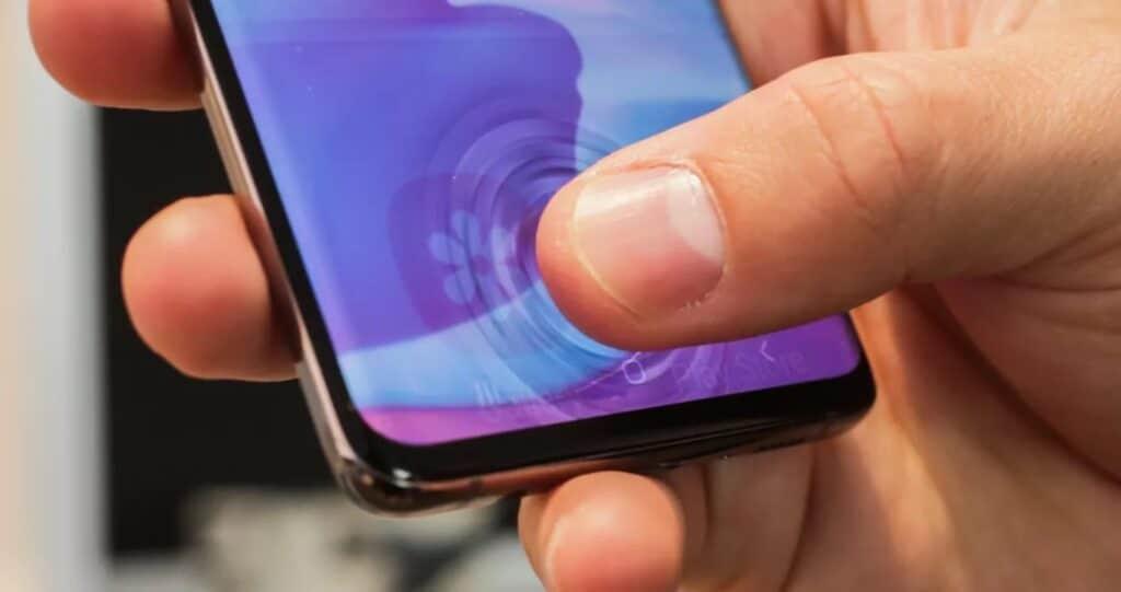 Ultrasonik Parmak İzi Tarayıcı