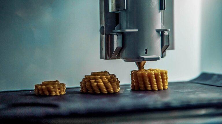 3D gıda baskısı
