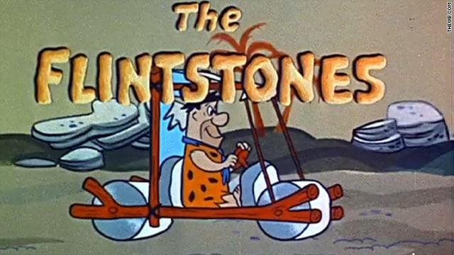 Televizyondaki İlk Animasyon Dizi Çakmaktaşlar