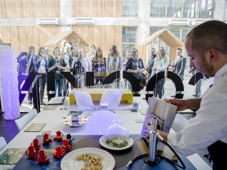 Dünyanın 3D Baskılı Yemek için Açılan İlk Restorandı Food Ink