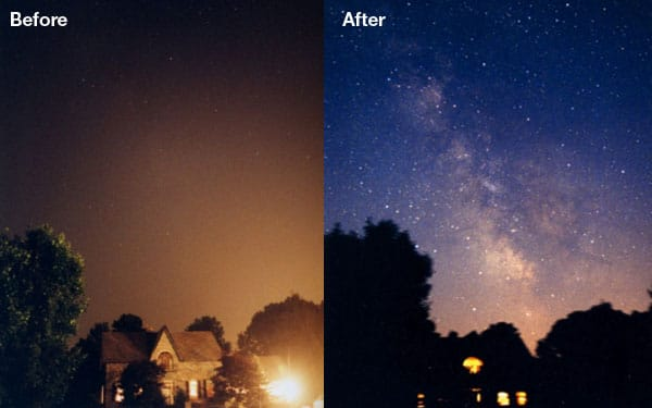 ışık kirliliğinin etkileri