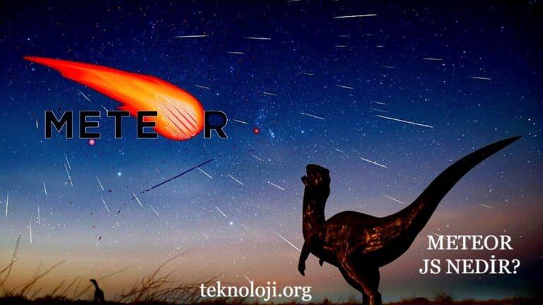 meteor js nedir?