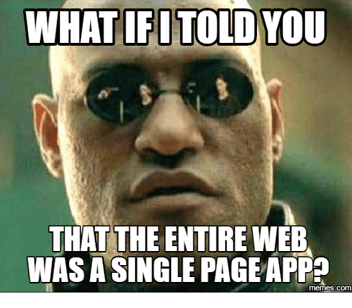 single page application nedir?