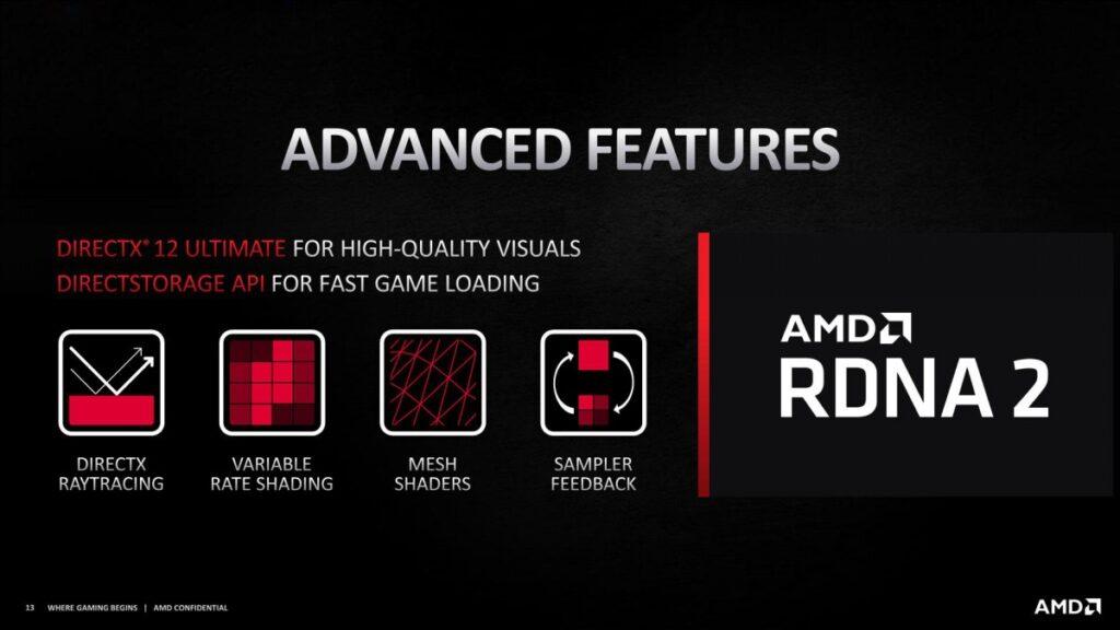 AMD RX 6000 Özellikleri