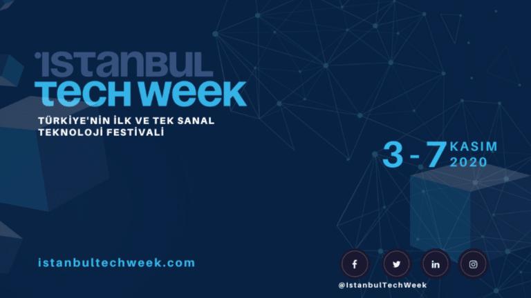 Istanbul Tech Week 3-7 Kasım