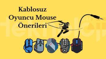 Kablosuz Oyuncu Mouse Önerileri – Aralık 2020