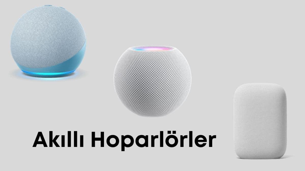 akıllı hoparlörler