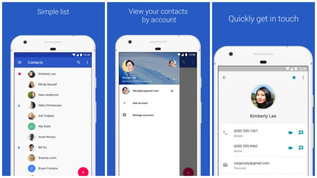 google-contacts-android
