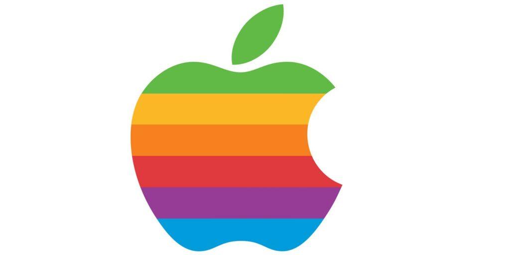 Apple Gökkuşağı Logosu