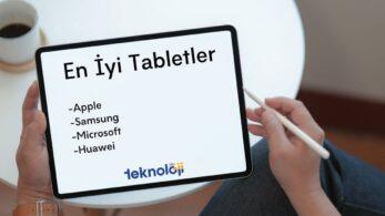 En İyi Tablet Önerileri – Mayıs 2021