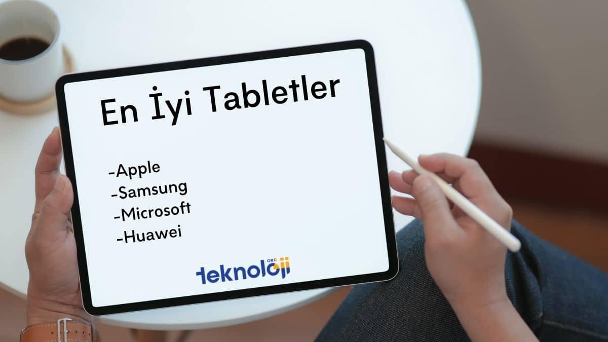 En İyi Tablet - Öneriler