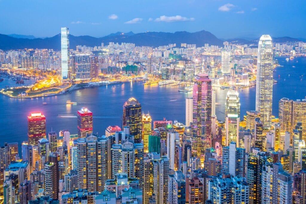 Hong Kong Dünyanın en teknolojik şehirleri