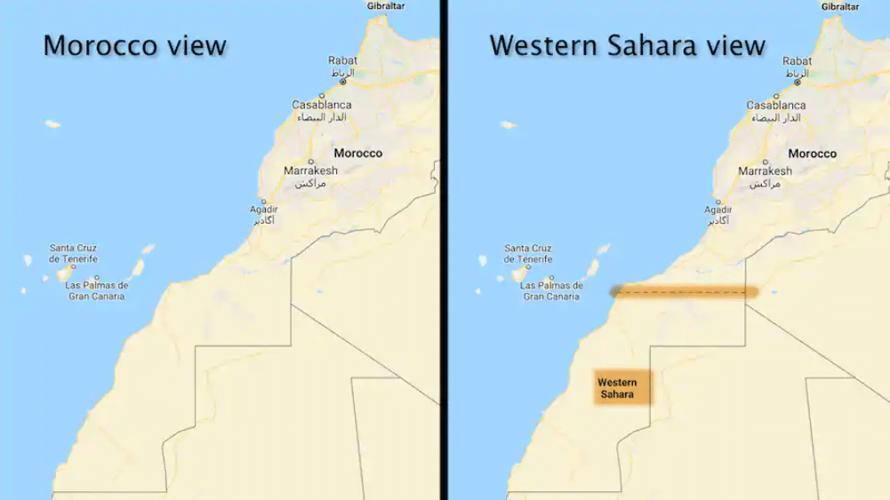 Harita Farklılıkları