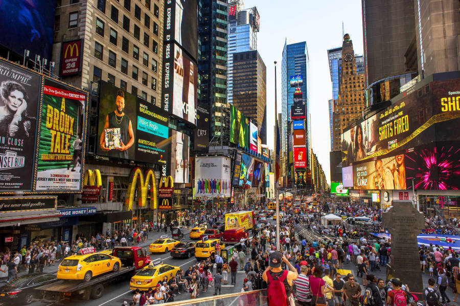 dünyanın en teknolojik şehirlerinden New York